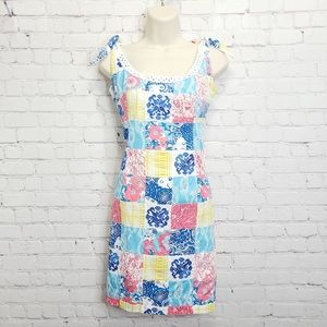 Lilly Pulitzer Embroidered Summer Dress